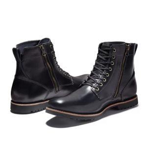 Timberland Kendrick Side Zip Boots Size 10.5